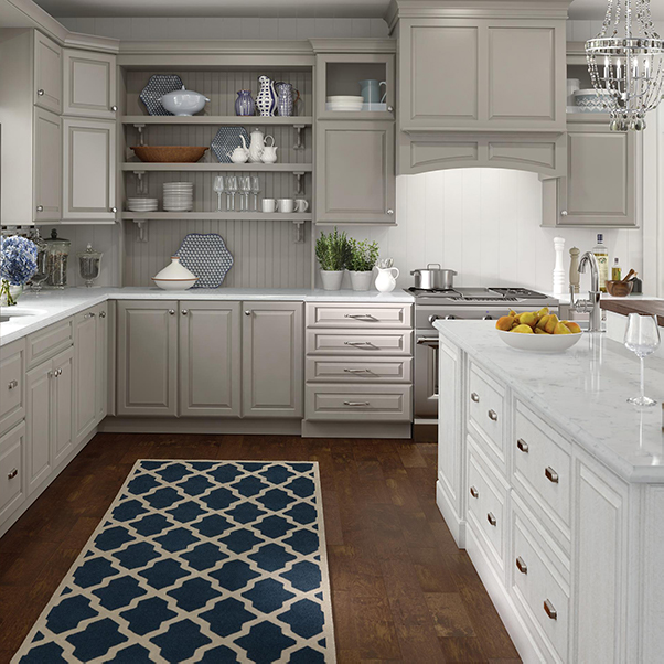 designed kitchen cabinets